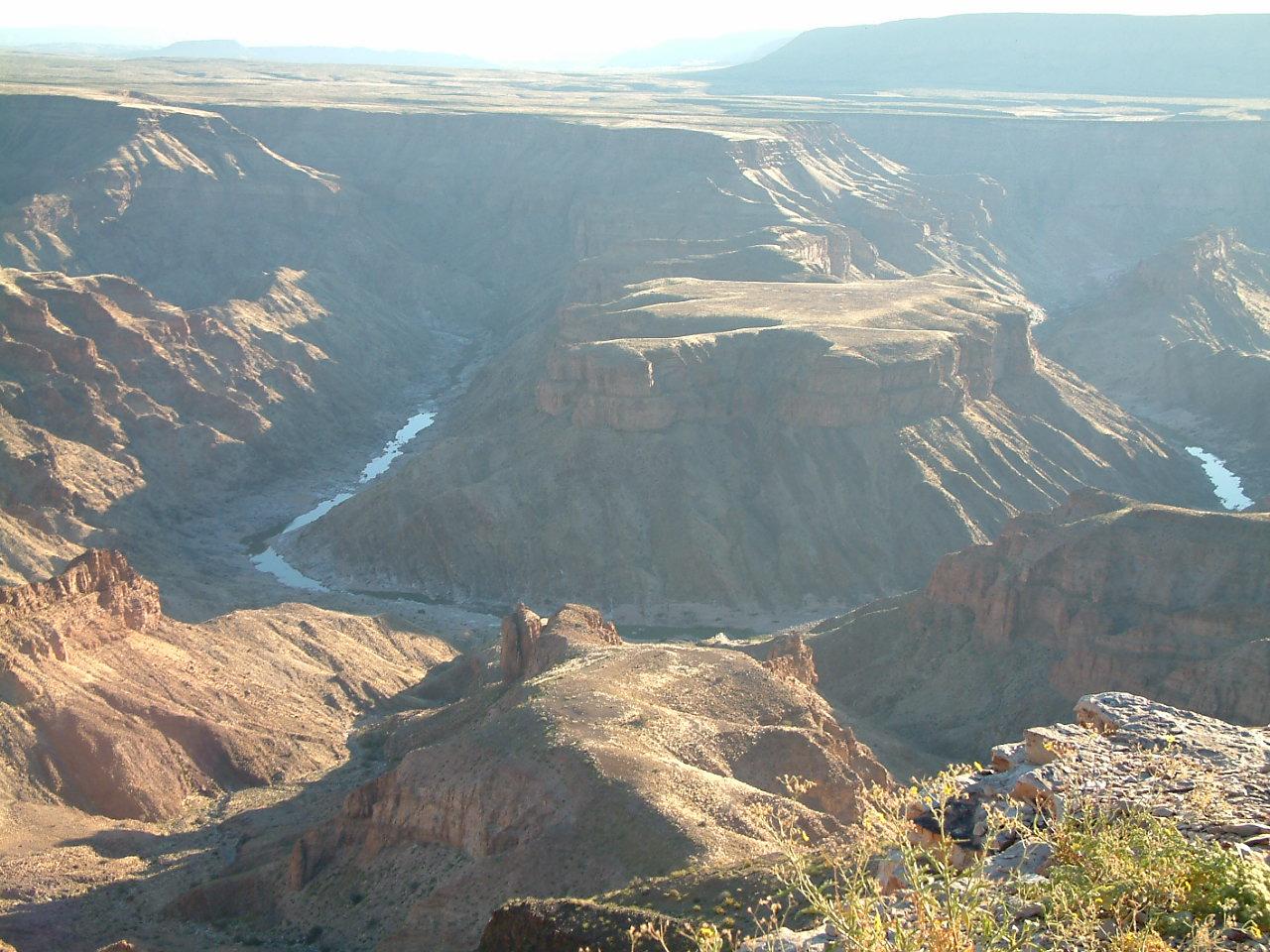 19 juli 2006 Oranjerivier – Fish River Canyon
