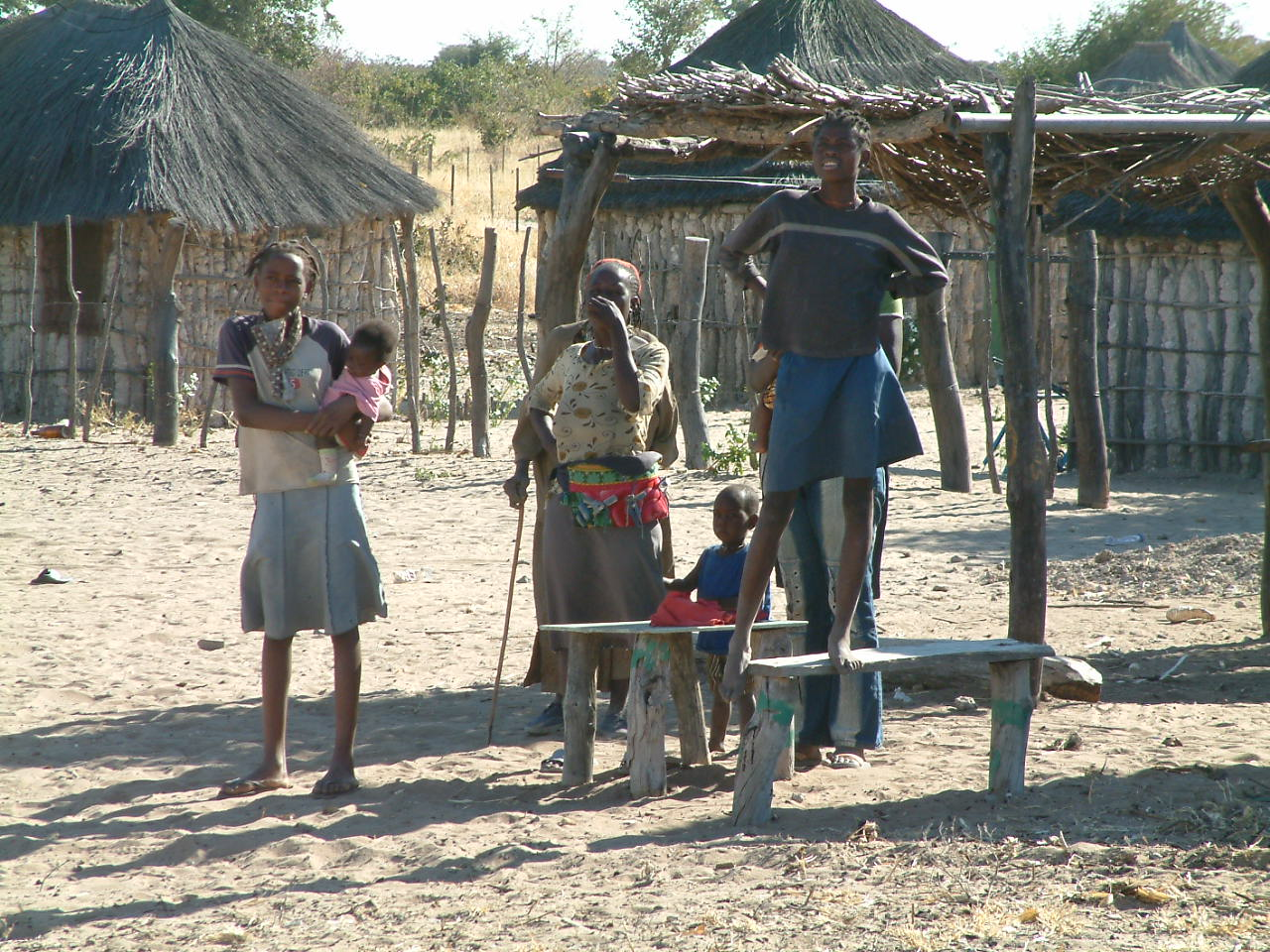 28 juli 2006 Etosha NP – Rundu