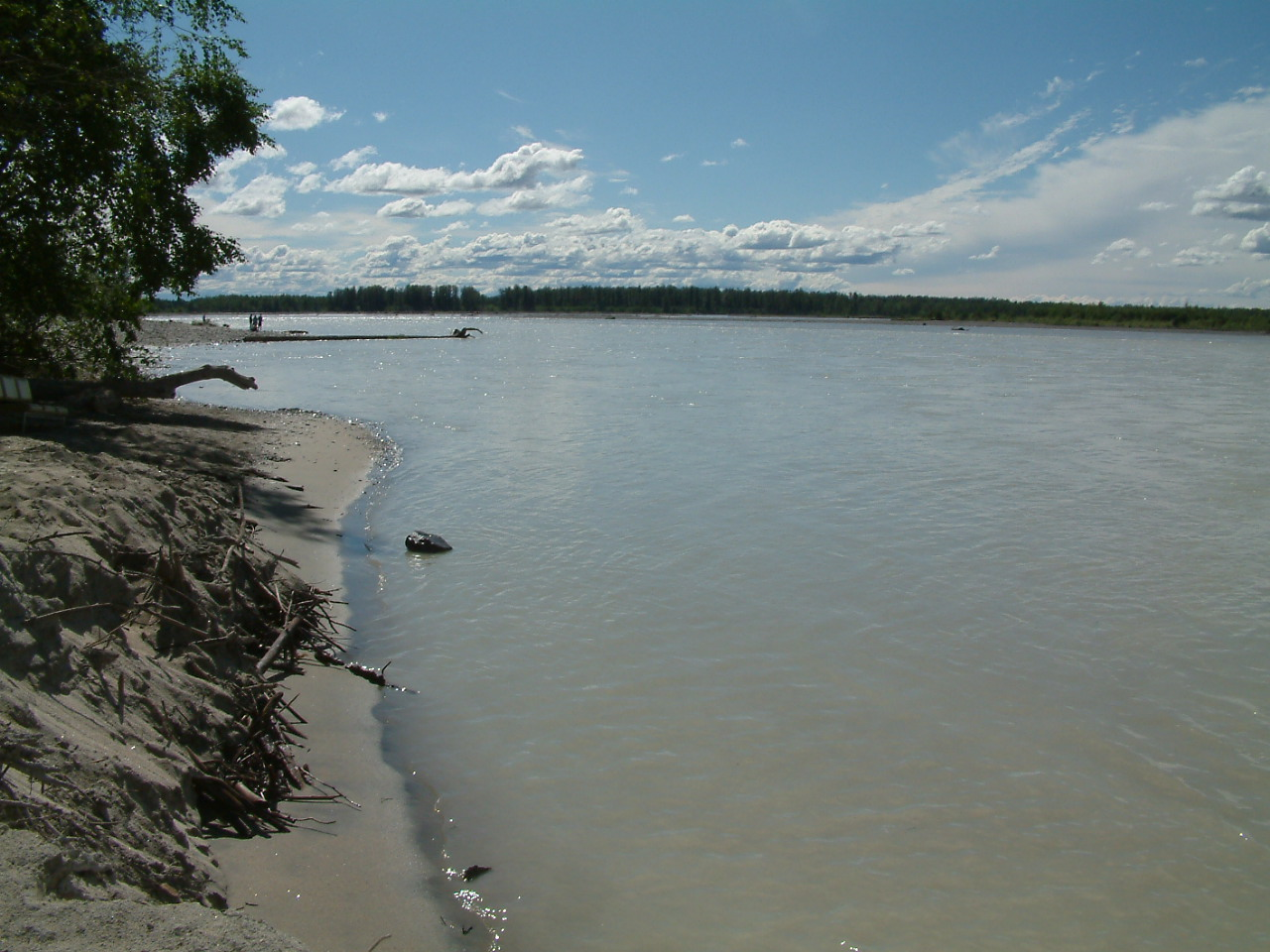 11 juli 2007 Anchorage – Talkeetna