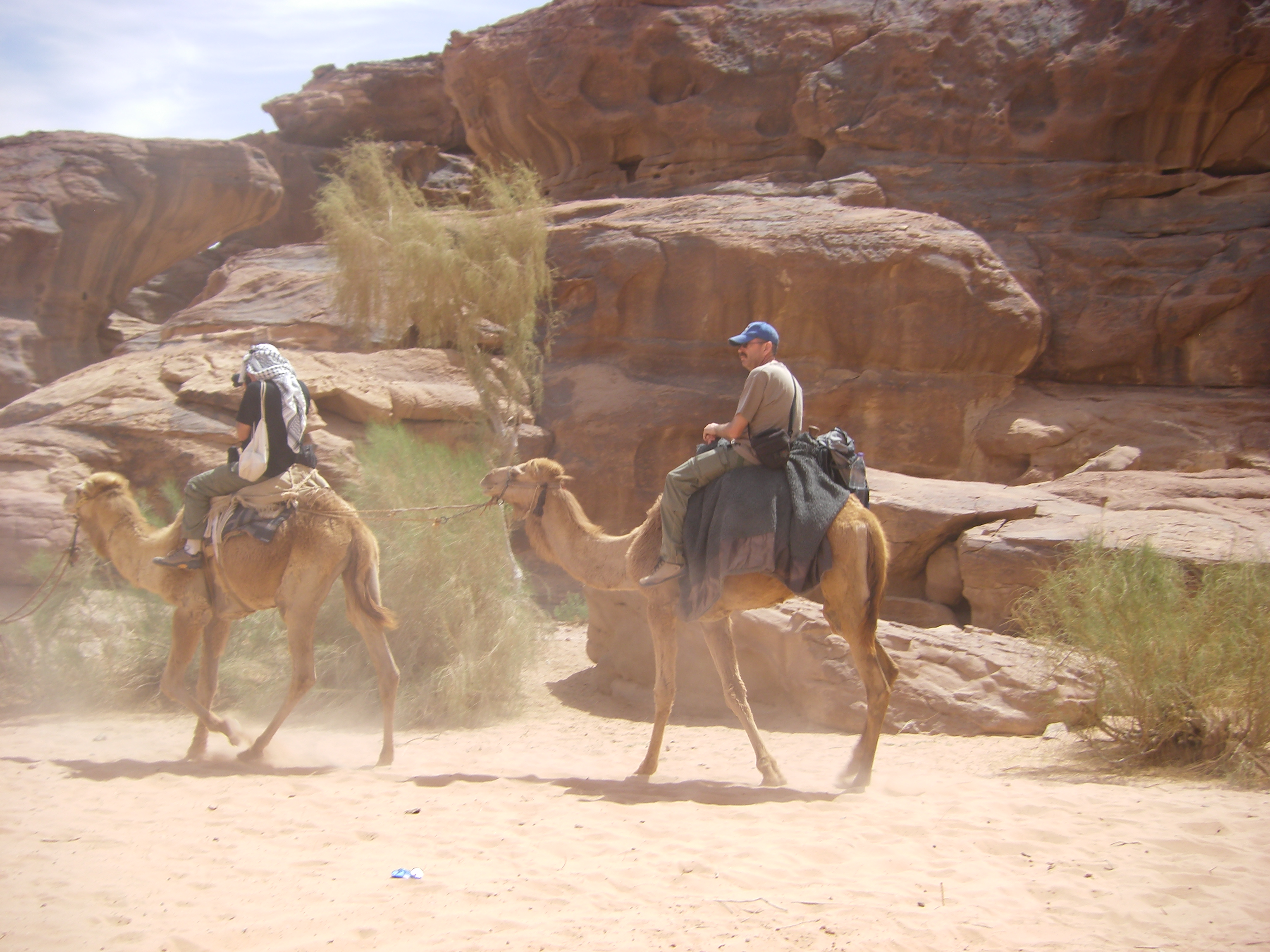 4 mei 2008 Wadi Rum – Aqaba