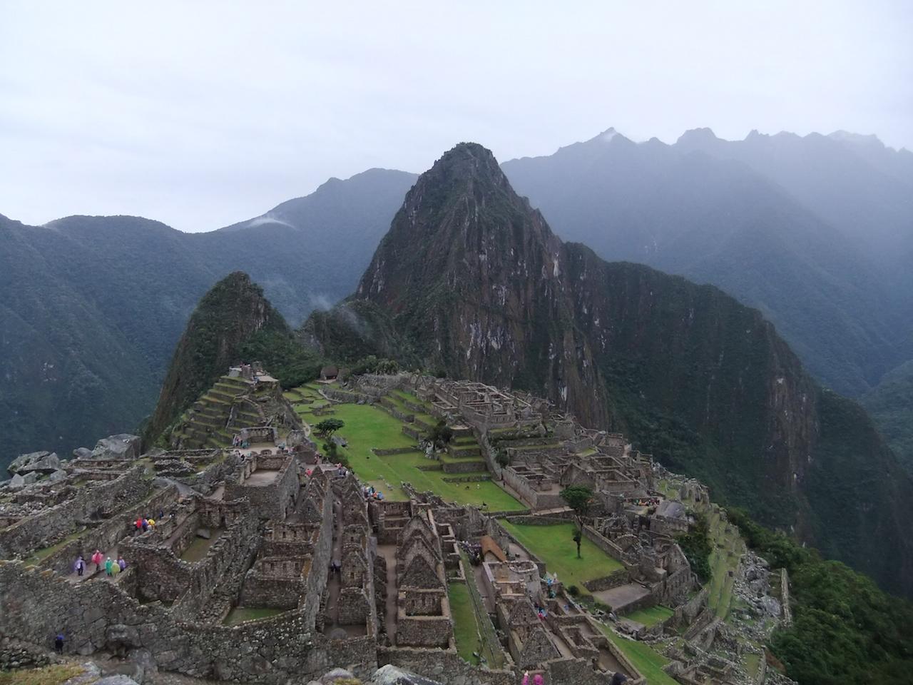 4 augustus 2011 Machu Picchu (2400m) en naar Cusco