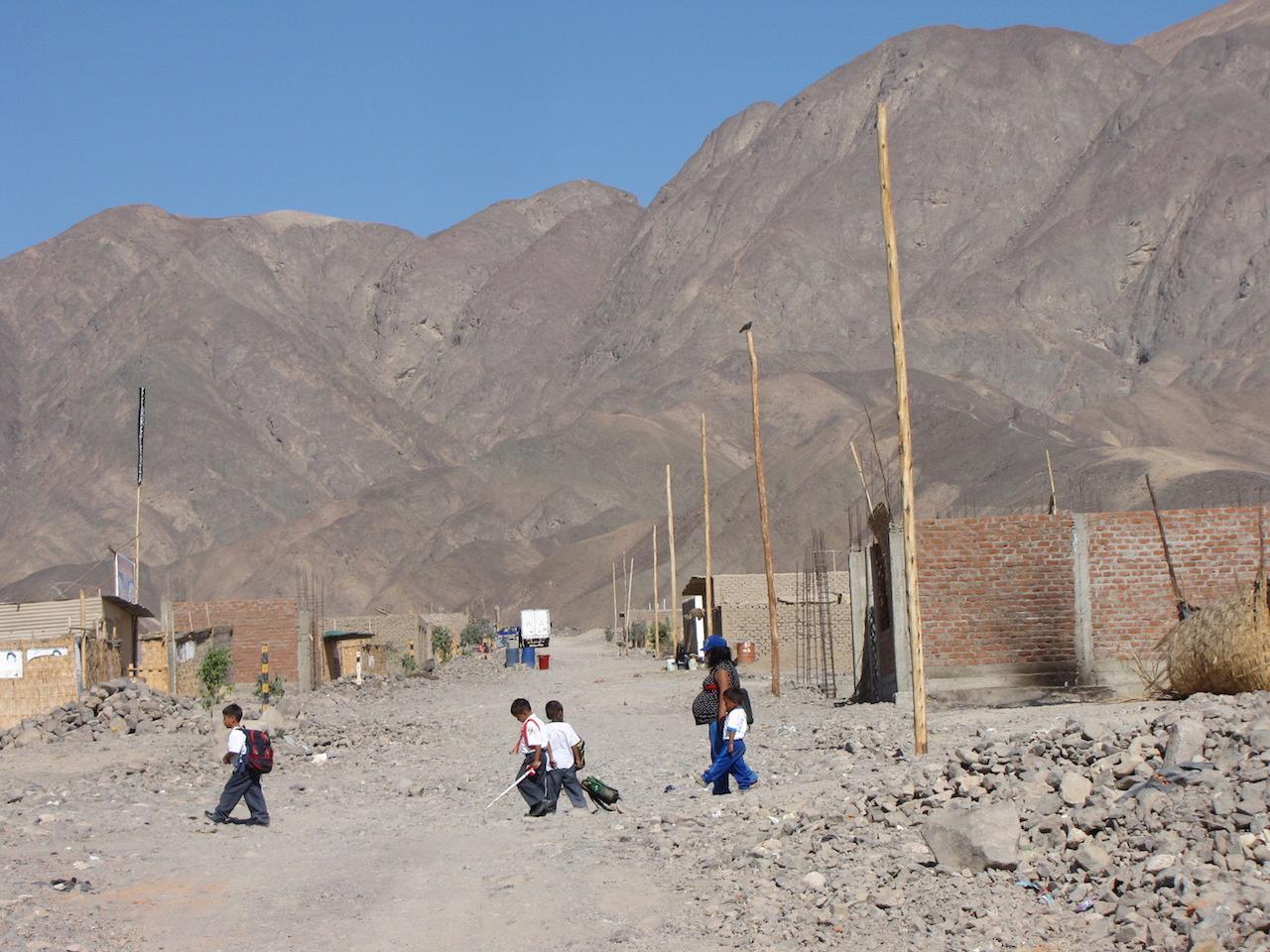 19 juli 2011 Nazca – nachtbus Arequipa (2350m)