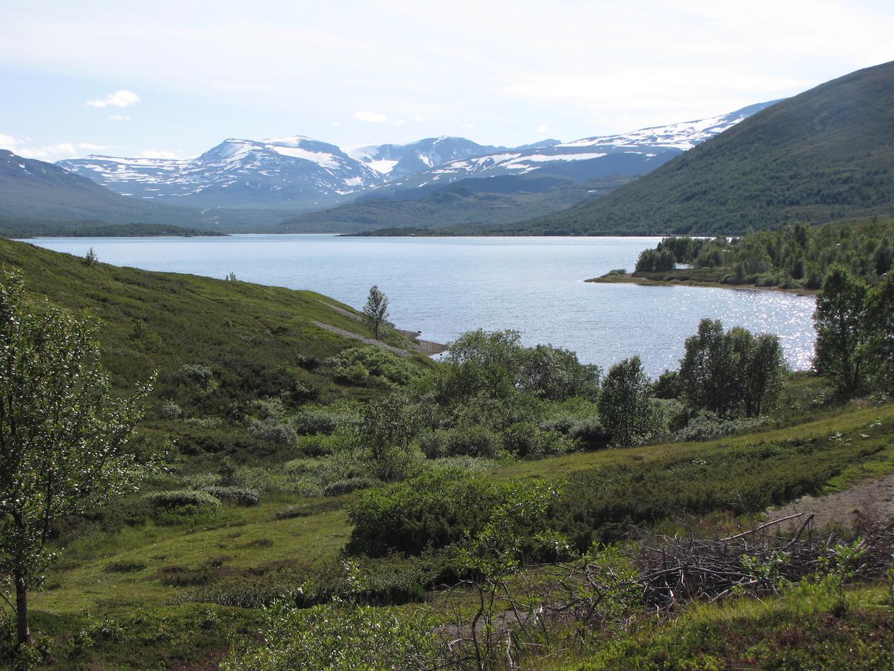 26 juli 2012 Trondheim – Beitostolen – 61° 14'N 8° 54'E