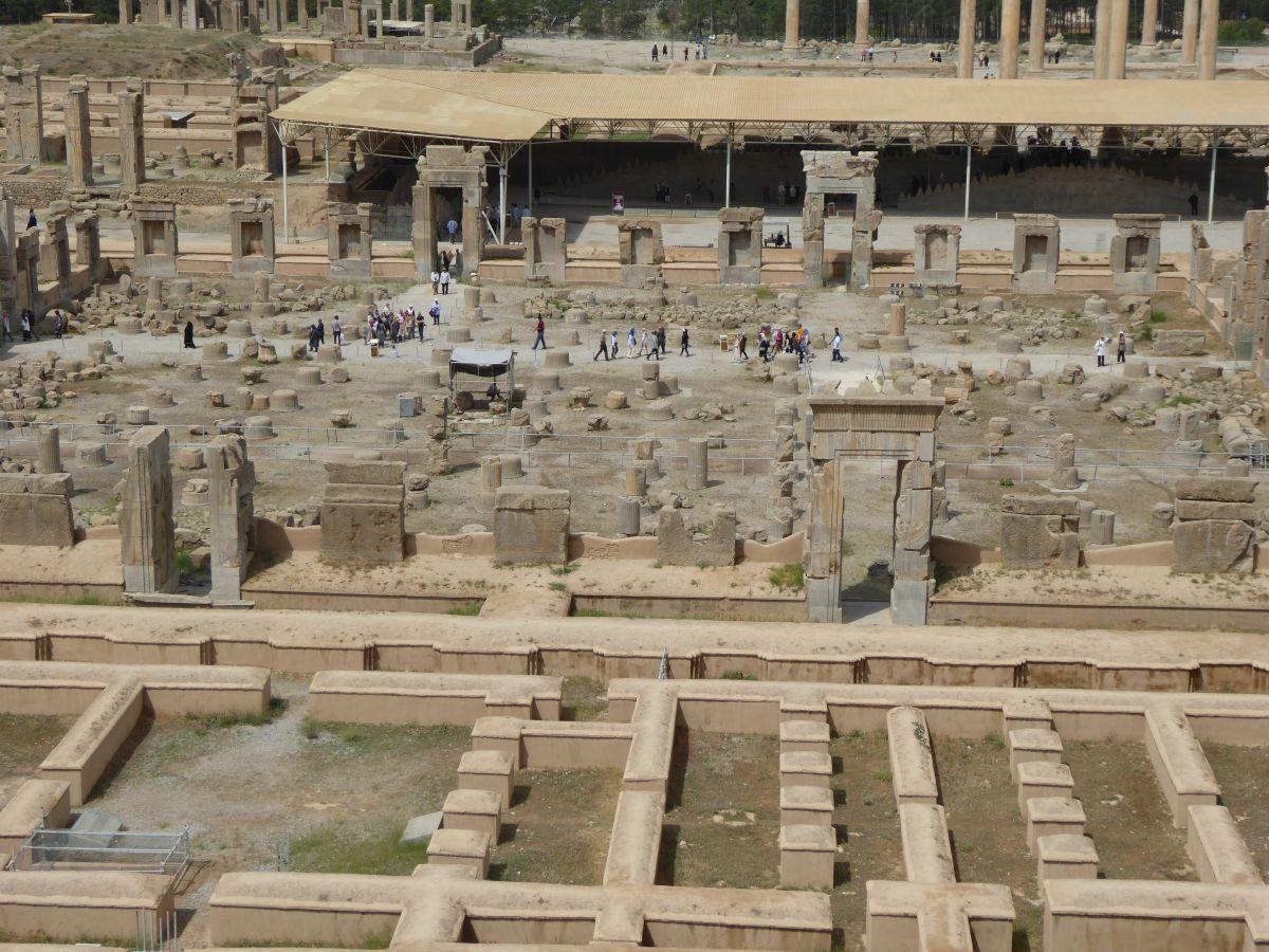 8 mei 2017 excursie Persepolis